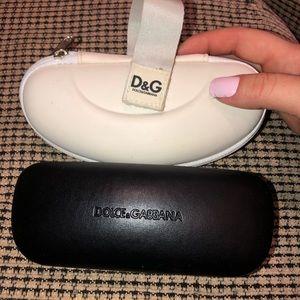 DOLCE & GABBANA BUNDLE | 2 authentic glasses cases
